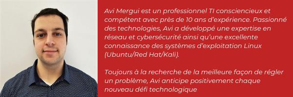 Avi Mergui - Rançongiciels et logiciels malveillants